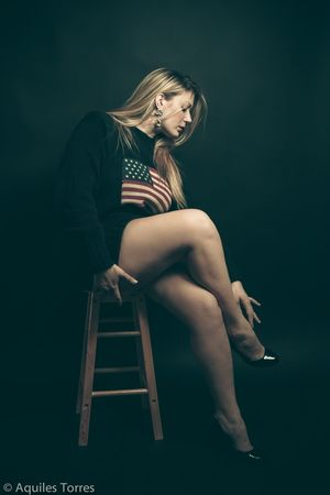 For him. Portrait Photoshoot Polo Ralph Lauren Long Legs Blonde Portrait Of America Model Canon