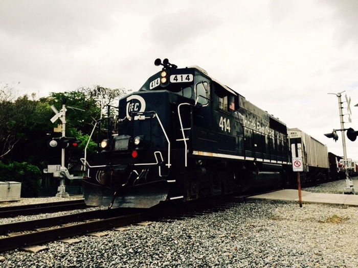 Florida East Coast Railway in Fort Lauderdale Florida East Coast Railway Rail Transportation Railroad Track Locomotive Fort Lauderdale  Cargo