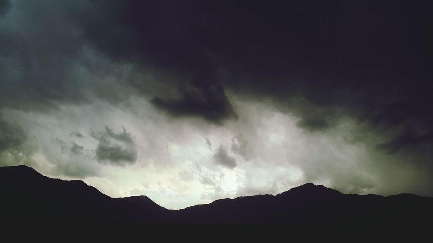 Dark clouds ♥ Taking Photos Dark Skies Into The Woods