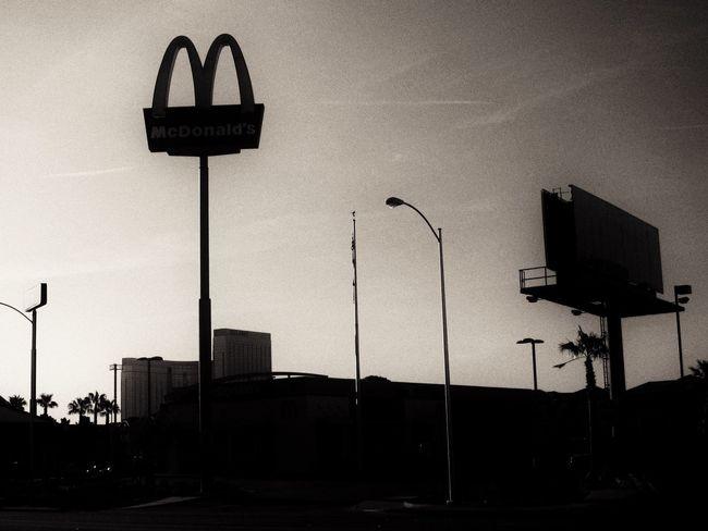 Americana Goldenarches Sunrise McDonald's Sillouette