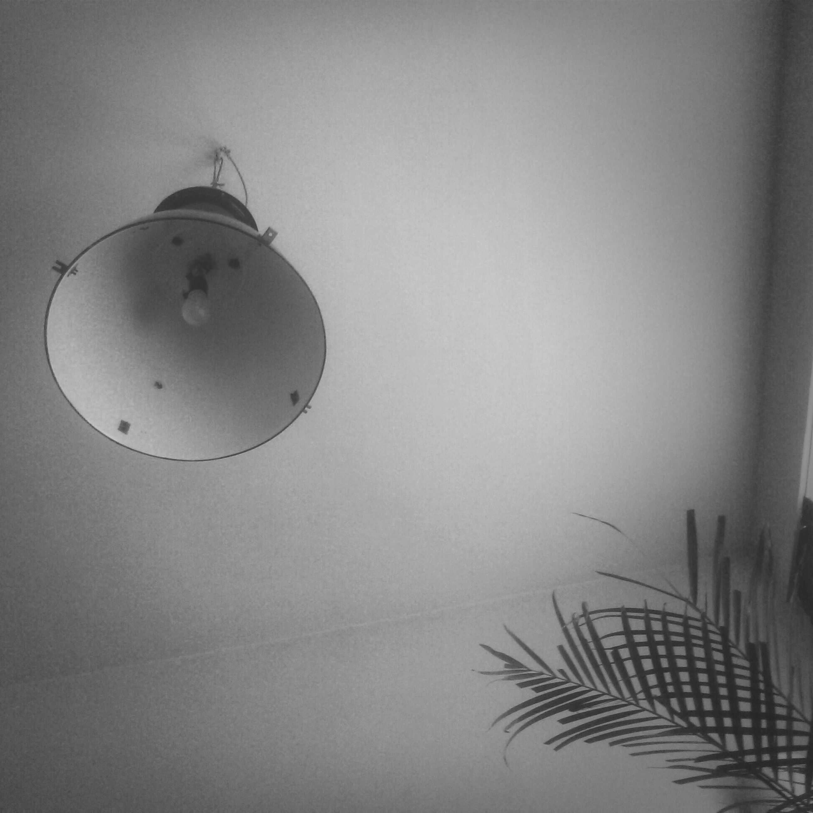 indoors, low angle view, copy space, wall - building feature, lighting equipment, hanging, home interior, ceiling, decoration, close-up, no people, wall, built structure, electric lamp, art and craft, architecture, day, decor, art, creativity