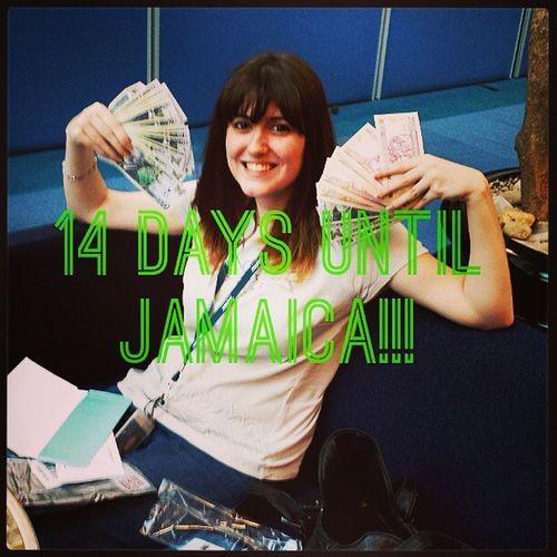 14 days Countdown Vacation Jamaica Excited Money Yeahman RunawayBay Twoweeks