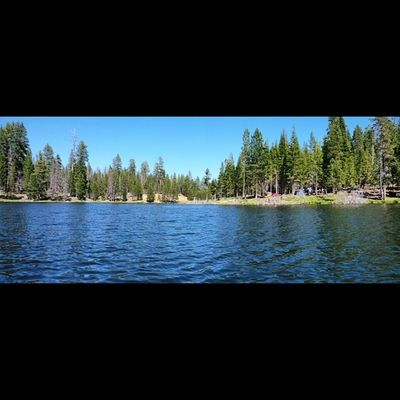 Camp from the canoe! Lakeview Oregon