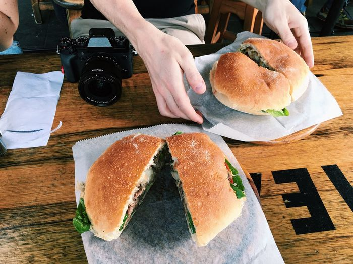 food here is insanely delicious Sandwiches Tel Aviv Delicious Delightful *_*