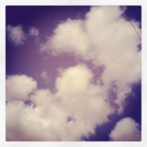 Cotton wool clouds Mycamerastories Cottonwool Blueskies Fluffy cloudappreciationsociety beautifulday clouds sigh daydream