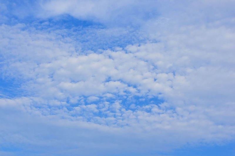 Low angle view of cloudscape against sky