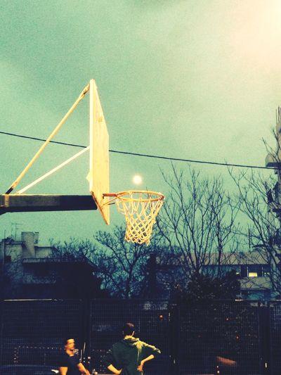 Scoring fullmoon Full Moon Basketball Taking Photos