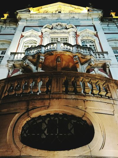 Lisbon Old Architecture Built Structure City Low Angle View No People Architecture Lisbonnight