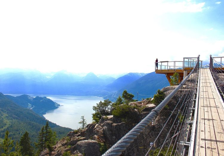 Scenic View Of Scenic Lookout