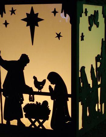Nativity Photowalktheworld Nativity Lantern Christmas Lights Politics And Government Silhouette Men Urban Scene