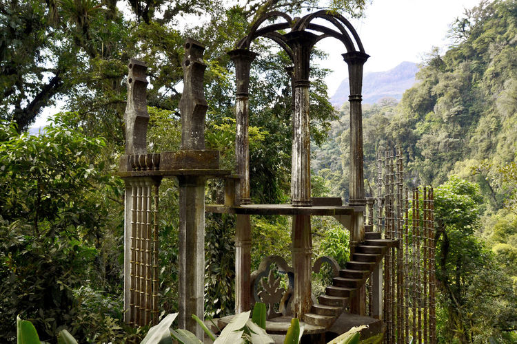Edward James' Garden in the Mexican Jungle. Architecture Edward James's Garden Mexico Jungle Sculpture Sculpture Garden Surrealism Xilitla