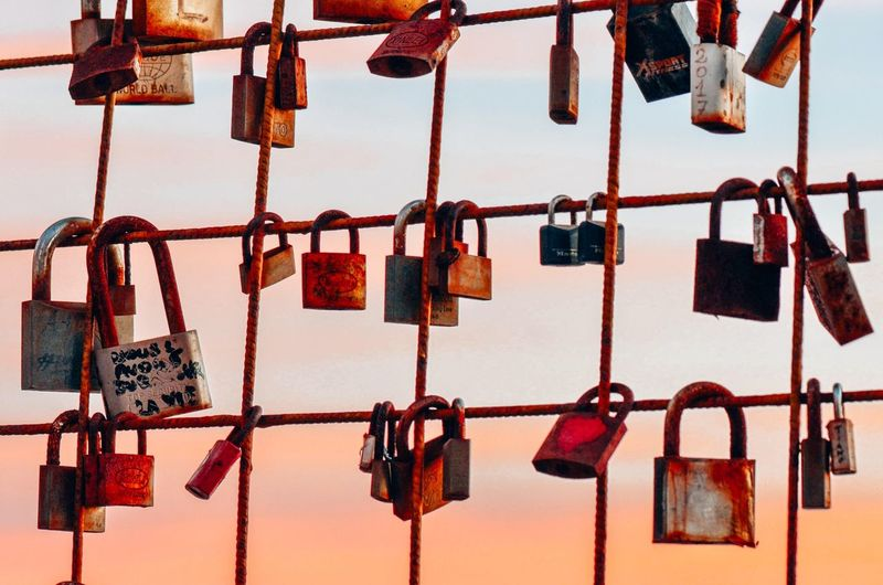 Love padlocks Love Padlocks Love Love ♥ Padlocks Padlocks, Lovers Locks, Promises, True Love, Romance Lovers Lovers Point Lovers Locks Promise Amore Lovelovelove Sunset Silhouette Italy Lovers Time Locks Of Love Golf Club City Love Lock Hanging Luck Lock Love Padlock Hope - Concept Protection Message Bridge - Man Made Structure Metal Grate I Love You
