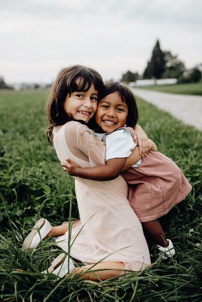 It's not about photography. It's about those valuable authentic moments. Ways Of Seeing Females Child Childhood Two People Family Field Girls Togetherness Love Emotion Grass Real People Bonding Smiling Human Connection