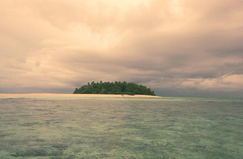 Fidschi Fiji Islands Beauty In Nature Cloud - Sky Environment Fiji Horizon Horizon Over Water Idyllic Land Landscape Nature No People Outdoors Plant Scenics - Nature Sea Sky Sunset Tranquil Scene Tranquility Tree Water