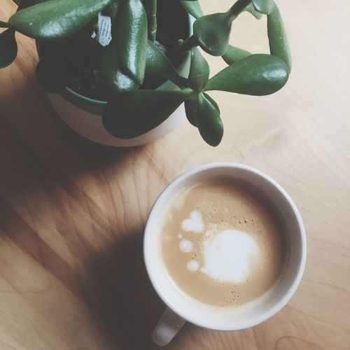 Morning Good Morning Coffee Coffee Time Succulents Way To Wake Up Urban Geometry Simplicity Latte