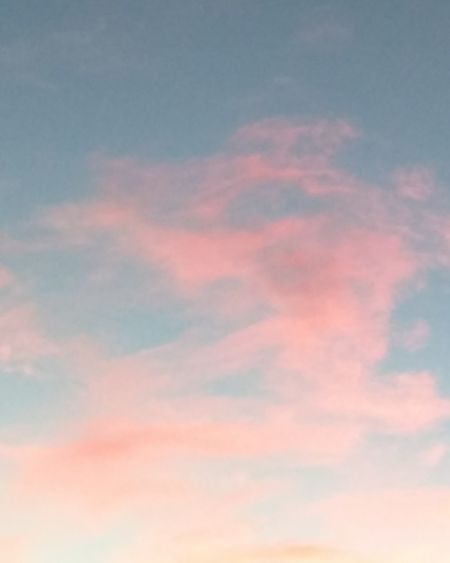 Pink clouds Sky Cloud - Sky Heaven Beauty In Nature Cloudscape Sunset Nature Scenics Tranquility Pink Color No People Outdoors Multi Colored Low Angle View Beauty Sky Only Day