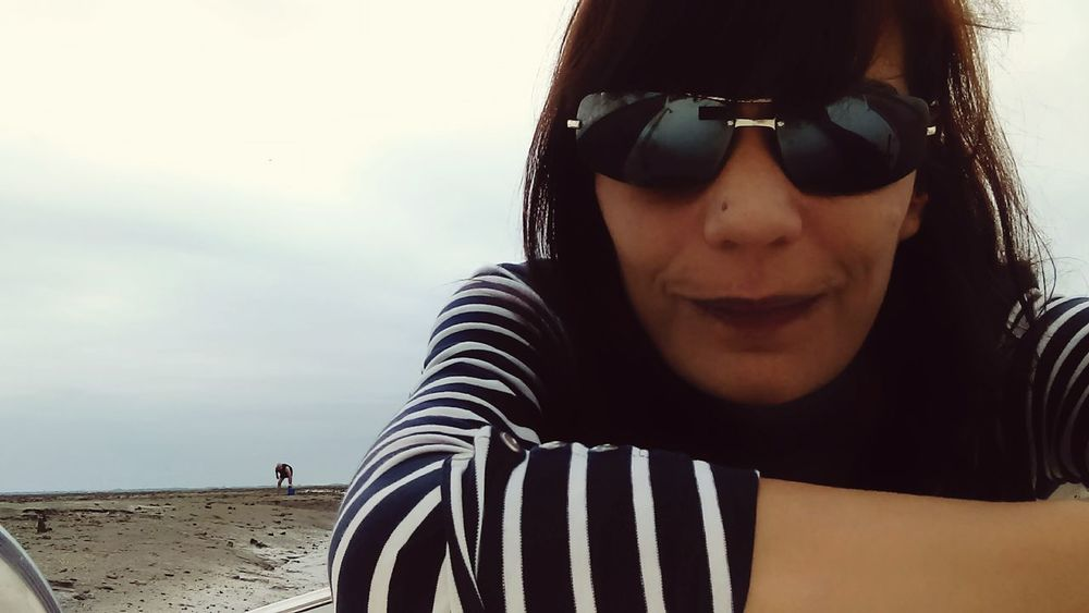 Sunglasses Only Women Adult One Person Young Adult Looking At Camera Selfie ✌ Where Is The Summer??? Weekend ♥ Tranquility Île Aux Oiseaux Cloud - Sky Nature No People Bateau ❤️