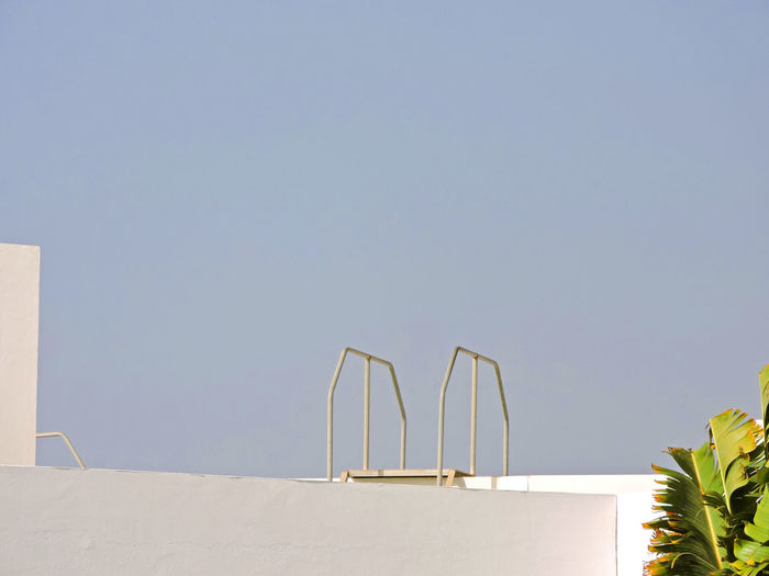 Architecture Blue Sky Canary Islands Clear Sky Close-up Day Lanzarote Minimal Outdoors Playa Blanca Sky SPAIN Tree