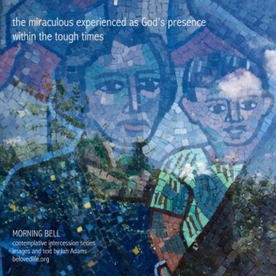 No26 in series 'in our prayers (contemplative intercession)' Shrine Cortona Prayer Contemplation Stillness Presence Mosaic Severini Reflection