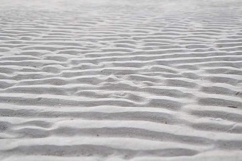 Beautifully Organized Sand Markings Sandformations Whitesand Pattern Textured  Texture