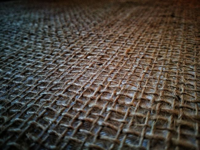 Full Frame Backgrounds Pattern Textured  No People Close-up EyeEmNewHere Cloth Fabric Textiles Textile Industry Textile Design Old-fashioned Details Textures And Shapes Weave Thread Hessian