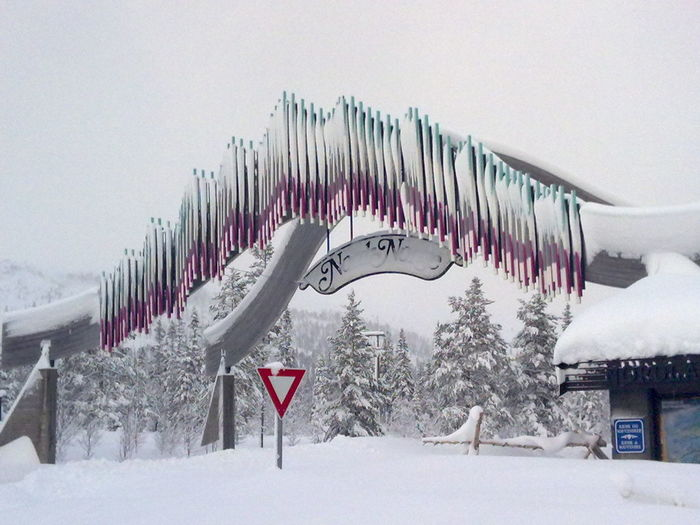 Norway Architecture Beauty In Nature Built Structure Cold Temperature Nature Snow Winter