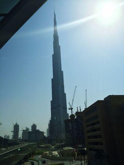 Public Transportation Burj Khalifa