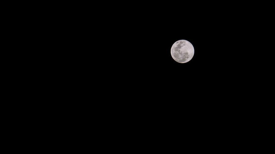 Moon Full Black