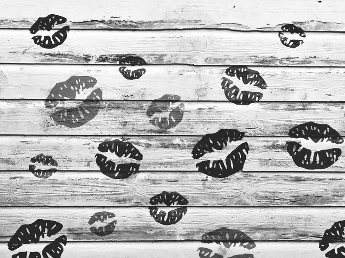Sun-kissed: The village of Footdee at Aberdeen beach Blackandwhite Shed Beach Footdee Scotland Aberdeen Kisses Lips Wood - Material Number No People Text Communication Close-up Directly Above