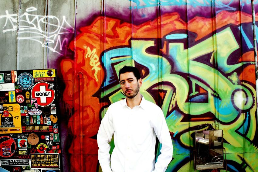 Artist Trevor Rockwell Musician Rapper HipHop Graffiti Graffiti Wall Jacksonville Florida Duval  Downtown T2i Colorful Color Portrait EyeEm Best Shots Eye4photography  Natural Light Portrait