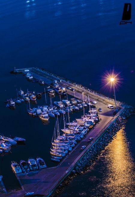 Cagliari By Night Cagliari Selladeldiavolo Bestoftheday Picoftheday Sunset Photography Sea Porto Boat Boats First Eyeem Photo