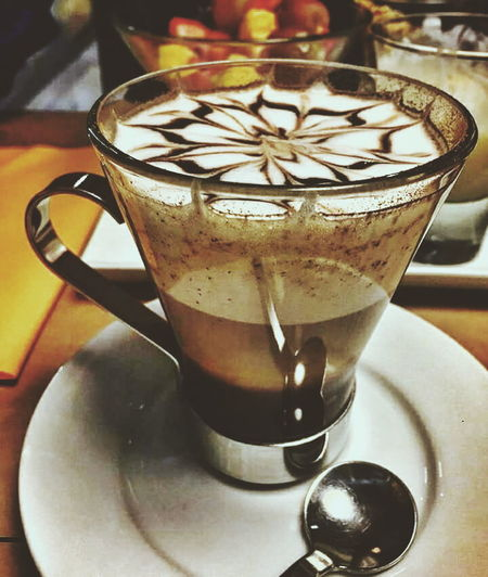 Coffee time! Open Edit Exceptional Photographs Lifestyles Indoors  Eyeem Photography Enjoying Life Hanging Out Drink Food And Drink Refreshment Drinking Glass Coffee - Drink Eyeem Coffee Lovers Eyeem Coffee Coffe
