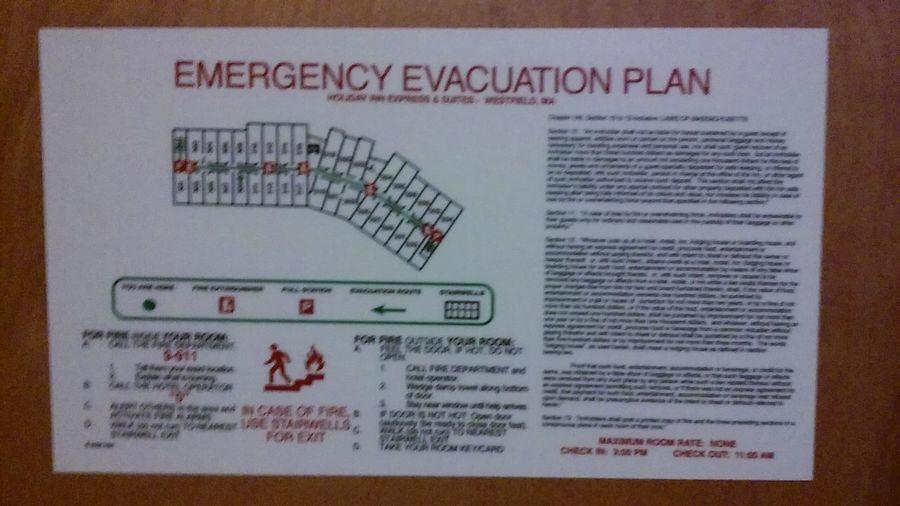 Emergency Evacuation Floor Plan