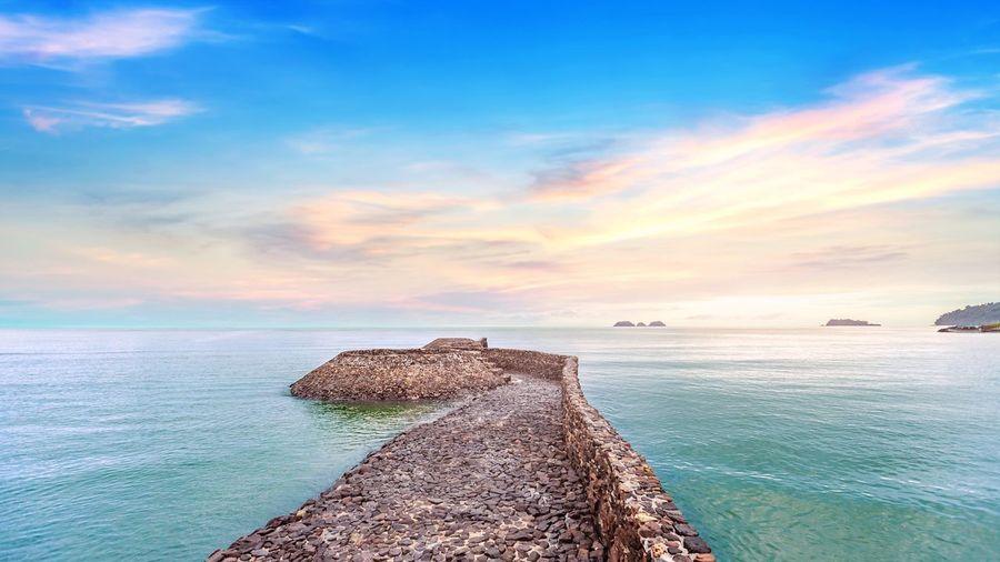 The rock pier