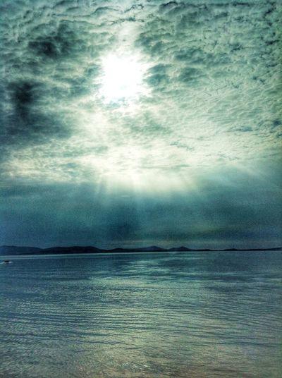 Cloudporn Wonderful Seaview Sunbeams