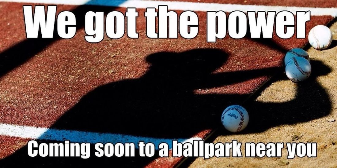 We gots the power, baseball has the power. Opening day 2013 :) #baseball #openingday13