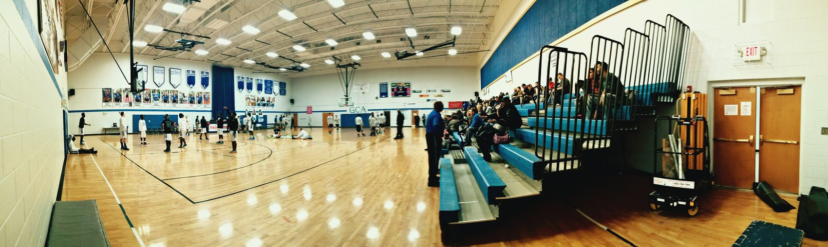 Basketball Basketball Game The Places I've Been Today Panorama Panoramic Photography Panoramic Everyday Lives Playing Basketball Sports Photography People