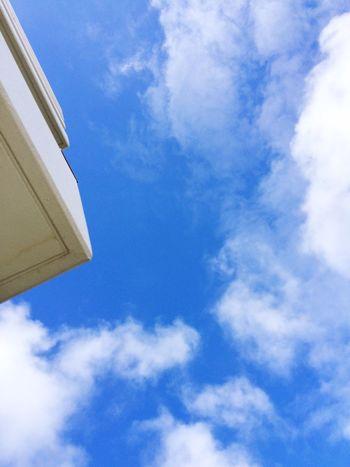 Summersky Blue Sky Sky すっかり夏の空 Okinawa