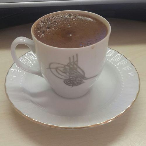 Yemekten sonra kahve keyfii...