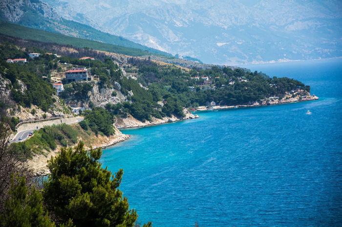 Croatia Omis Croatia Beach Beauty In Nature No People Omis See Water
