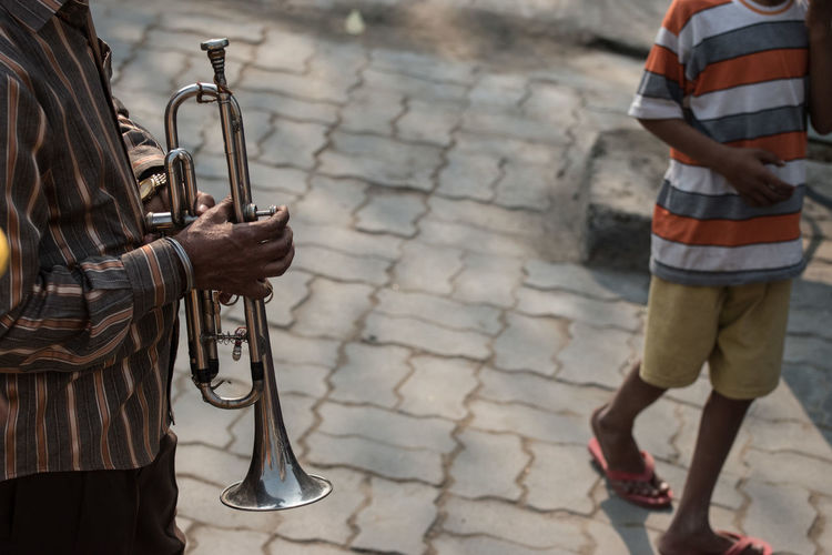 Day Human Body Part Instrument Music Musical Instrument Musician Musicians Outdoors People Trumpet Finding New Frontiers