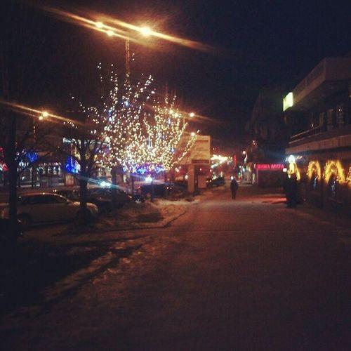 Night City Zaporozhie Lights