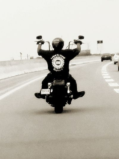 Motorbike Americaisknownforthis Goodoldblackandwhite
