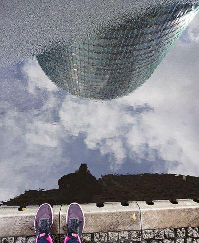 Me&Berlin Me&berlin Human Body Part Low Section Shoe Cloud - Sky People Human Leg One Person