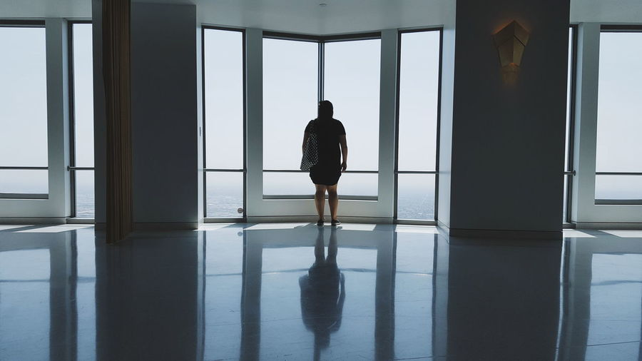 My Favorite Place Silhouette Indoors  Full Length Reflection Standing Rear View Flooring Window Men Tiled Floor Waiting Tall Floor Entrance Water Day Passage