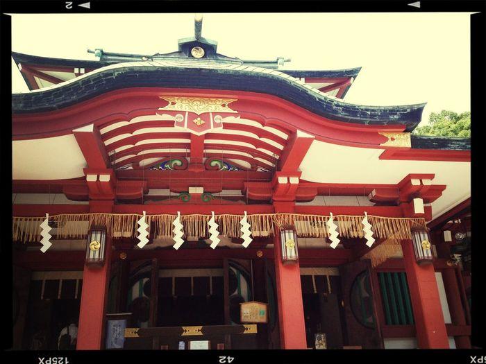 Walking around:))) Japan Building Sunnyday