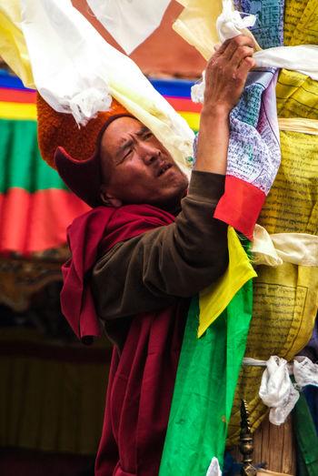 Karsha Gustor Festival at Karsha Gompa in Zanskar Valley Culture Folk Gompa India Karsha Kursha Ladakh Leh Padum Religion Religious  Spirituality Traditional Clothing Travel Zanskar