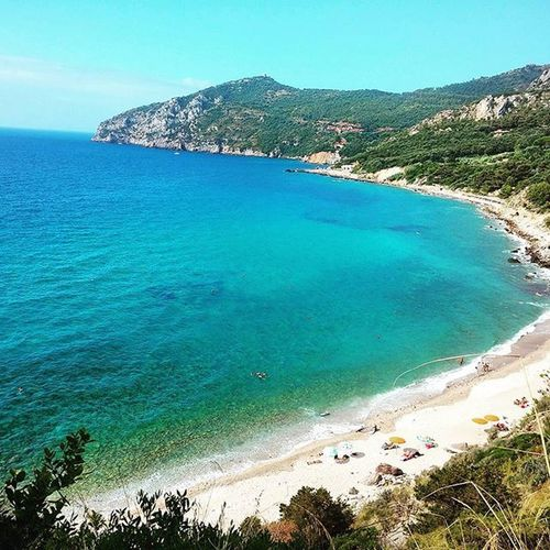 """A little """"slice"""" of paradise. Hotsummer Cristalclear Italianbeach Italian MonteArgentario Liveforever Stay"""