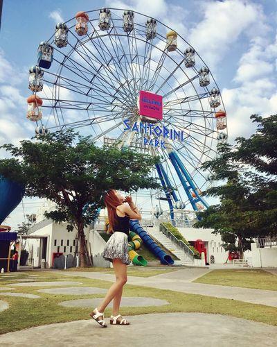 Santorinipark Filipina Travel Destinations Happiness