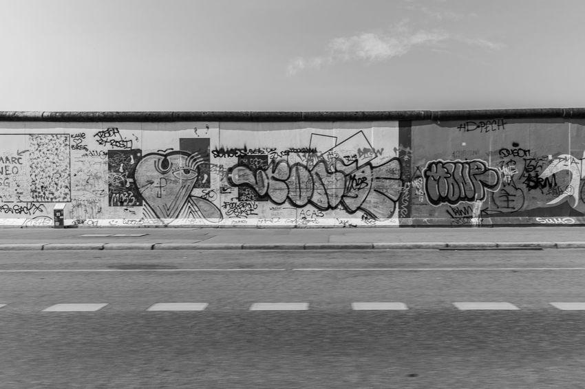 2018 Berlin Berliner Mauer Graffiti Mauer Mitte Stralauer Allee Trzoska Architecture Art And Craft Borderline Close-up Creativity Day Graffiti Grenze No People Outdoors Representation Sky Street Art Text Wall - Building Feature